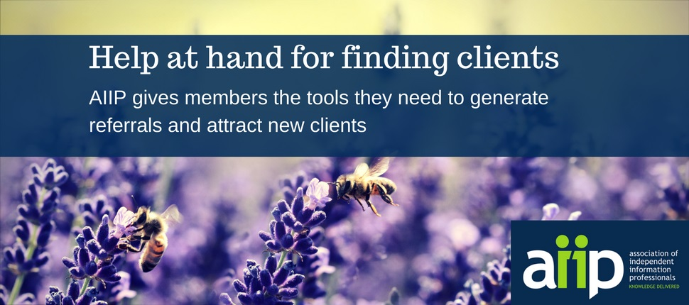 AIIP gives its members the tools they need to generate word of mouth referrals and attract new clients