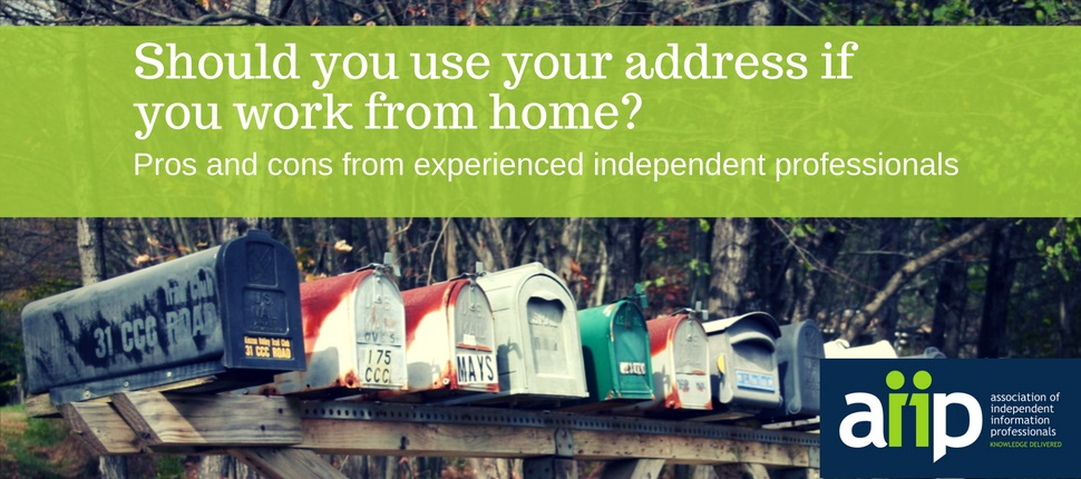Should you use your address if you work from home? Pros and cons from experienced professionals