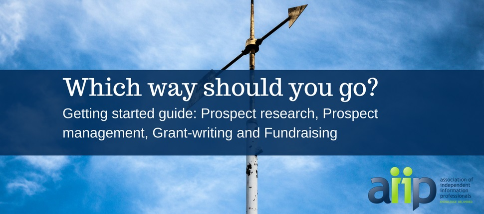 how to become a prospect researcher